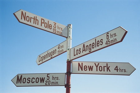 Sign Post Stock Photo - 12514029