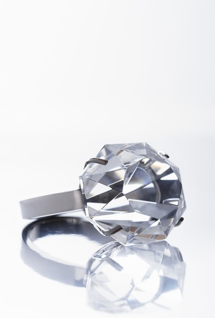 Diamond ring close up Stock Photo - 12514053