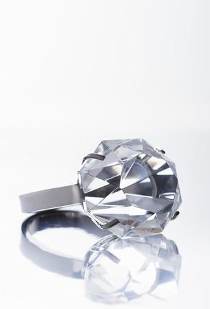 Diamond ring close up Stock Photo - 12514053