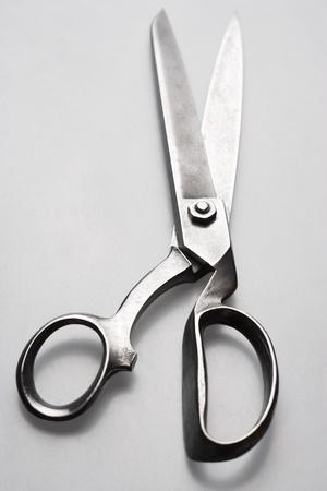 Scissors on white background in studio Stock Photo - 12514081