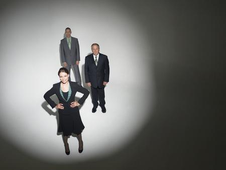 chosen: Businesspeople under the spotlight