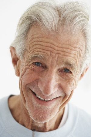 Senior Man Smiling Stock Photo - 12514208