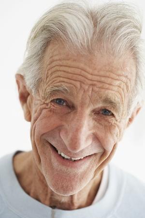 1 man only: Senior Man Smiling