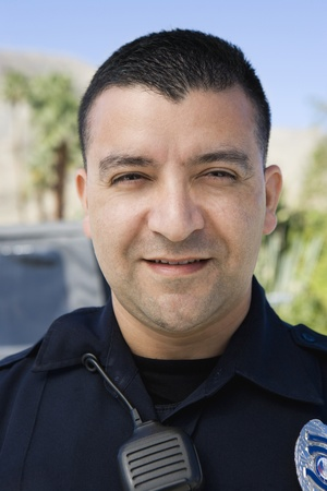 enforcing the law: Police Officer