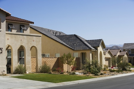 subdivisions: Large New House With Arched Entry