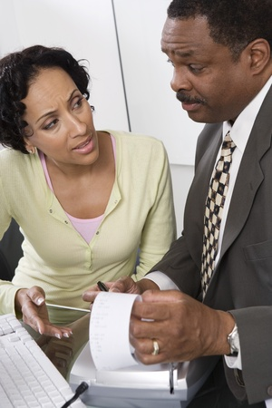 Accountant with Client Stock Photo - 12548157