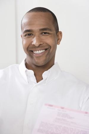 35 years old man: Smiling Man