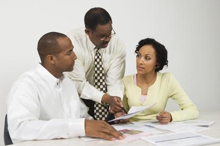 会計士夫婦での作業