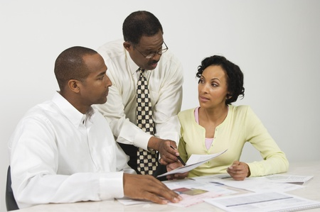 business roles: Accountant Working with Couple