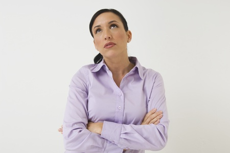 30 to 35 year olds: Woman with Arms Crossed