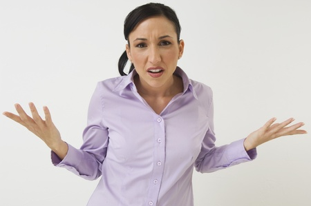 upper half: Frustrated Woman