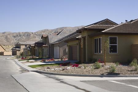 Houses in New Development Stock Photo - 12548455