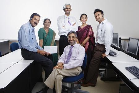 Indian Businesspeople Stock Photo - 12592376
