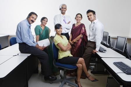 Indian Businesspeople Stock Photo - 12592377
