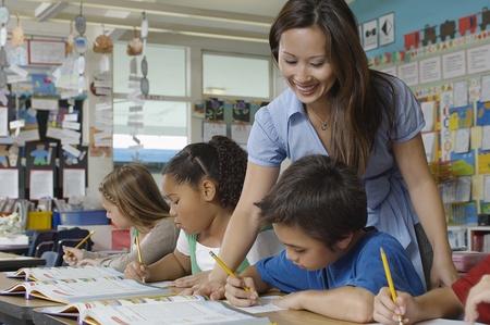 femme professeur: Enseignants et les �l�ves Homme en classe