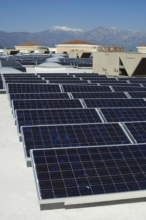 Solar Panels at Solar Power Plant Stock Photo - 12592586