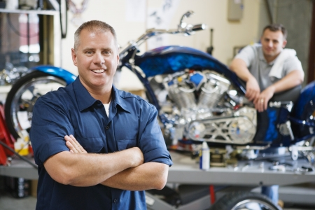 Motorcycle Shop Stock Photo - 12592632