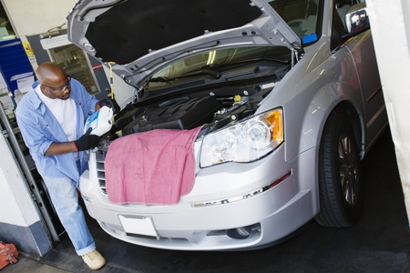 Auto Mechanic at Work Stock Photo - 12592637