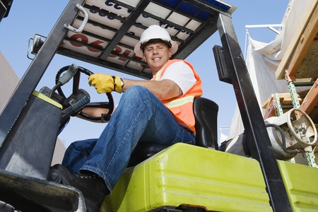 40 year old man: Forklift Driver