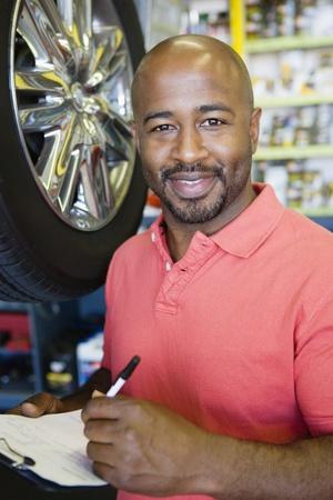 Auto Mechanic Stock Photo - 12592676