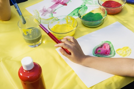 Children Painting Stock Photo - 12592896