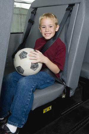 motorcoach: Elementary Student on School Bus