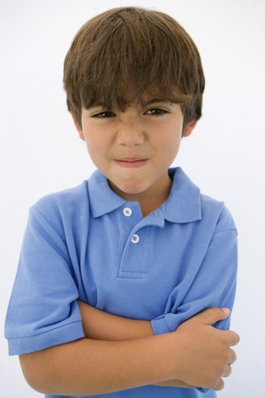 Young Boy Making Face Stock Photo - 12736427