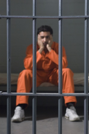strafgefangene: Gefangene in Zelle