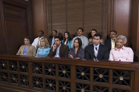 jury box: Jury box
