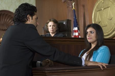 zeugnis: Richter beobachtete Anklage vor Gericht