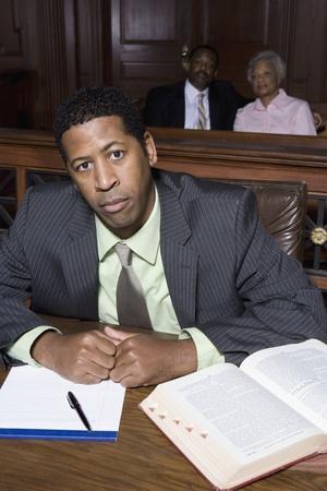 Man sitting in court Stock Photo - 12736540