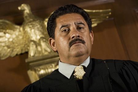 middle easterners: Judge in court portrait LANG_EVOIMAGES