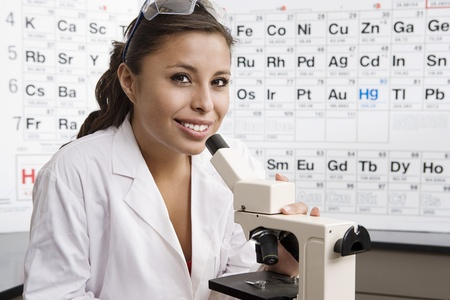 Student in Science Class Stock Photo - 12736728