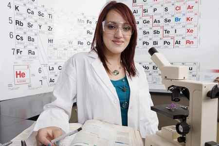 Student in Science Class Stock Photo - 12736729