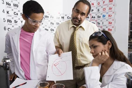 失敗した学生を与える教師グレード