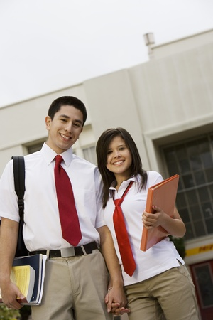 High School Couple Stock Photo - 12736780