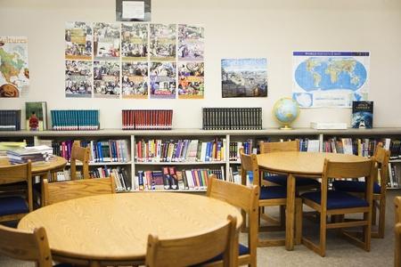 voortgezet onderwijs: High School Bibliotheek Leeszaal