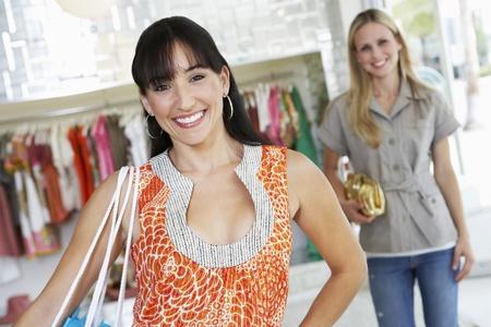 age 30 35 years: Young Women Shopping