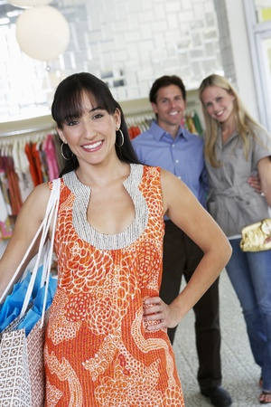 Customers in a Clothing Store Stock Photo - 12736883