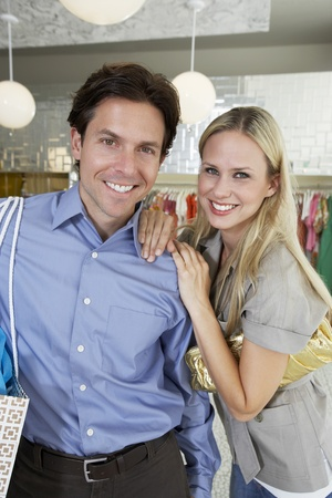 35 to 40 year olds: Couple Shopping