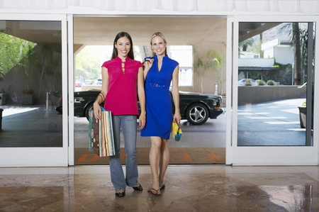 Women Going on a Shopping Trip Stock Photo - 12736997