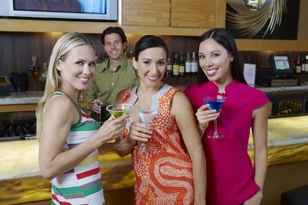 mingle: Women at a Bar