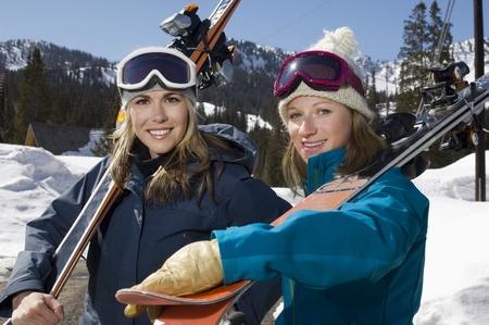 Skiers Stock Photo - 12737032