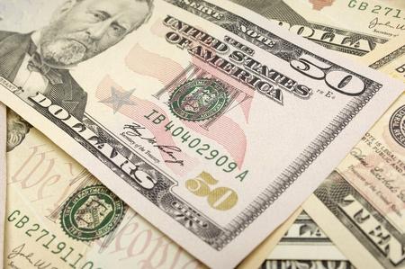 fifty dollar bill: Cash