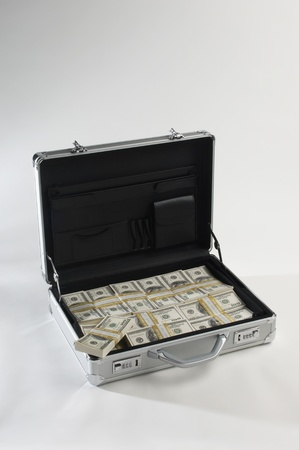 Briefcase Full of Money Stock Photo - 12737124