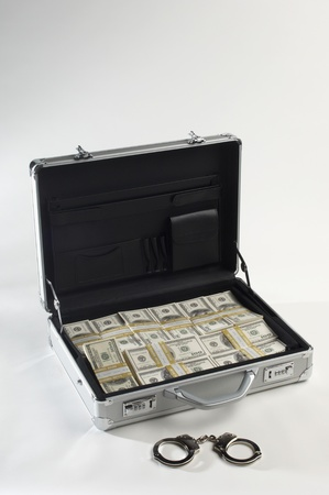 Briefcase Full of Money Stock Photo - 12737125