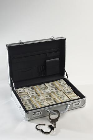 Briefcase Full of Money Stock Photo - 12737127
