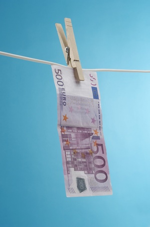 Money Hanging Out to Dry Stock Photo - 12737133