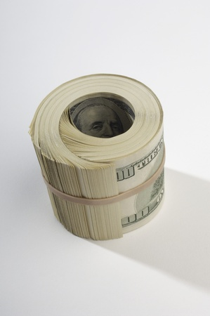 Rolled Up Money Stock Photo - 12737137