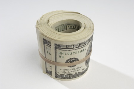 Rolled Up Money Stock Photo - 12737138